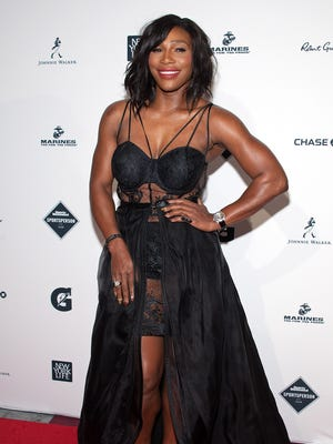 Honoree Serena Williams attends the 2015 Sports Illustrated Sportsperson of the Year Ceremony at Pier Sixty at Chelsea Piers on Dec. 15, 2015 in New York City.