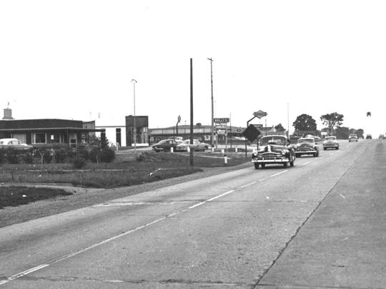 Sully's Drive-in was located on West Saginaw, undated
