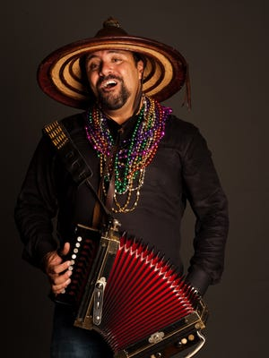 Creole musician Terrance Simien and the Zydeco Experience will perform two sets at 3:30 p.m. and 8 p.m. on Saturday at the Natchitoches-NSU Folk Festival.