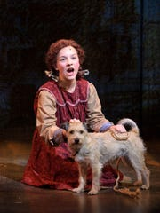 """Dec. 27 is your last chance to see KyLee Hennes and Skippy in Skylight Music Theatre's production of """"Annie."""""""