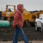Photos: Protest group sets up camp near DAPL site in Rockwell City