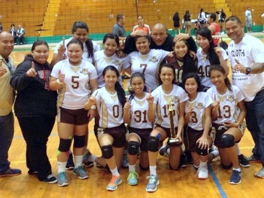 2014 All-Island Middle School Girls Volleyball