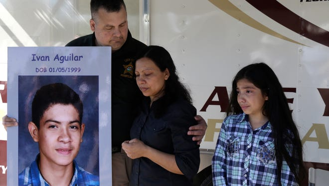 Three years ago, Ivan Aguilar left home. Little has been found of him since then despite pleas for his return from his family and extensive efforts by Leon County Sheriff's office investigators.