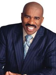Longtime entertainer Steve Harvey is a talk show host, game show host and radio personality.