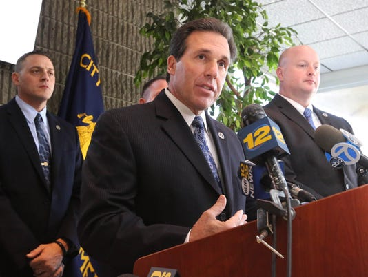 Yonkers police press conference