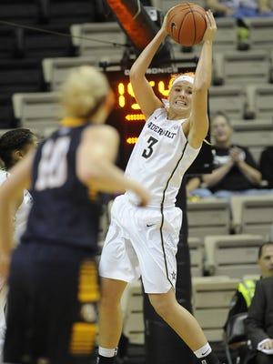 Vanderbilt transfer Heather Bowe is already making a good impression at Iowa State.