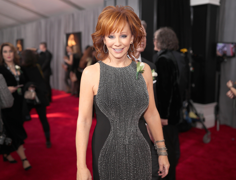 Grammy color changing dress black