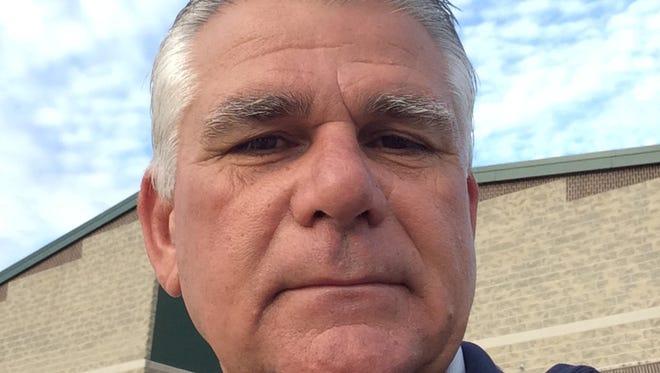 Seneca softball coach Marty Devino