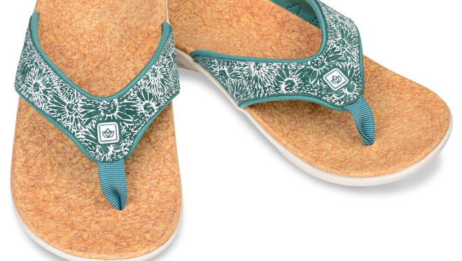 Spenco Women's Daisy Tide sandals can be purchased at www.spenco.com for $59.99.
