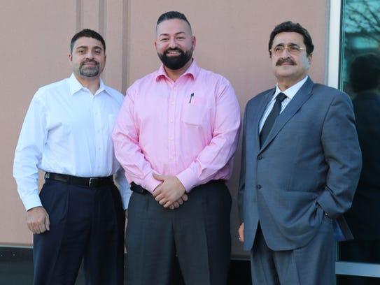 """From left: Mike Saad, 53, Ali Saad, 31, and Bahaa """"Bob"""""""