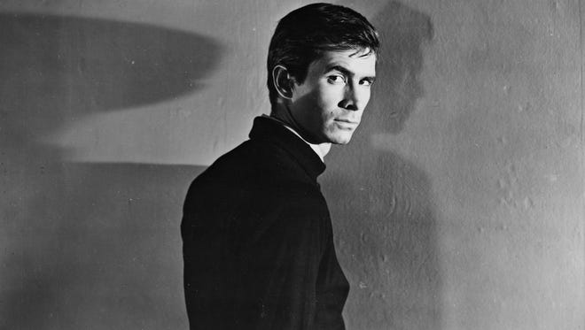 """Anthony Perkins in Alfred Hitchcock's """"Psycho."""""""