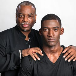 New York, NY  -- Producer LeVar Burton and actor Malachi Kirby come talk about History's upcoming remake of miniseries 'Roots.'   ORG XMIT:  MS 134818 Roots 04/26/2016 [Via MerlinFTP Drop]