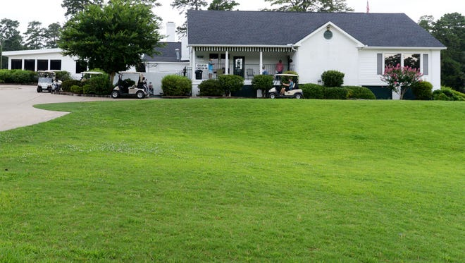 The Northwood Hills Golf Course club house.