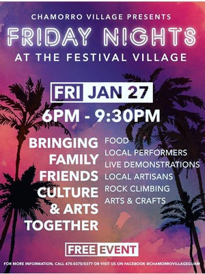 Chamorro Village is expanding their night markets to Friday and everyone is welcome!