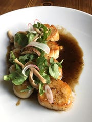 At The Arlington in Ship Bottom, local scallops are
