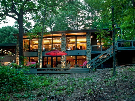 The Cedarburg Cultural Center's Annual Architectural Tour will include this modern home.
