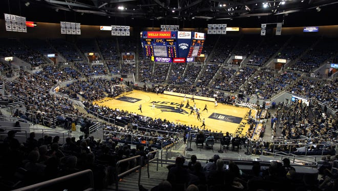 The Wolf Pack hosts Colorado State during a game at Lawlor Events Center last season.