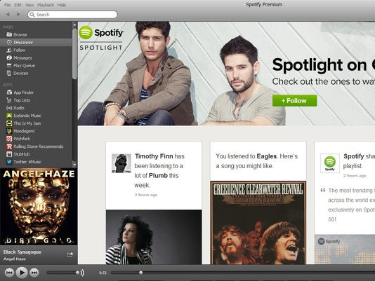 Spotify and competitors play to their musical strengths