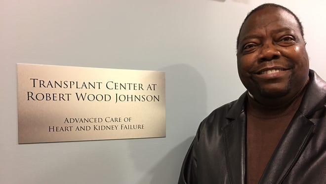 Joseph Johnson, 53, of Franklin Park is thankful to be alive following a Sept. 11 heart transplant operation at Robert Wood Johnson University Hospital in New Brunswick.