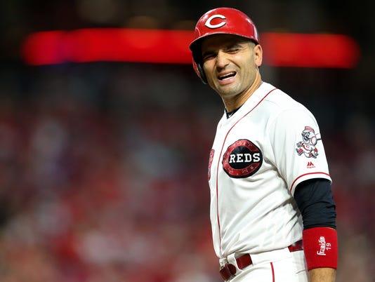 070318 REDS, Cincinnati Reds baseball, Cincinnati Reds vs. Chicago White Sox