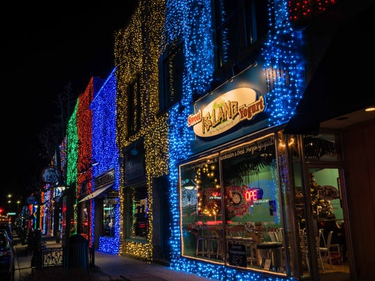 With over one million points of light Downtown Rochester's