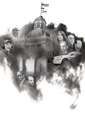 2017 was dominated by headlines on sexual harassment scandals at the Capitol, Senator Jack Latvala's fall from grace, Jimbo Fischer bolting after a lackluster football season, a barrage of shootings and homicides that helped keep Tallahassee on top of the crime rankings, a Greek system banned after a tragic death during a fraternity party and an ongoing FBI investigation which brought scrutiny to Commissioner Scott Maddox, his aide Paige Carter-Smith, entrepreneur J.T. Burnette, former City Manager Rick Fernandez, Mayor Andrew Gillum and his former associate Adam Corey, who introduced three undercover FBI agents to the city's business and elected leaders. It all combined to create a dark cloud that still hangs over the capital city.