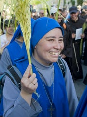 Palm Sunday is celebrated Sunday, kicking off Holy Week festivities.