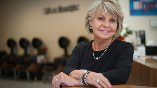 Maureen Freebery is celebrating the 50th anniversary of her business, Maureen's Hair Salon & Day Spa.