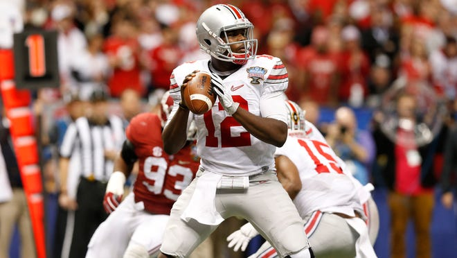 Ohio State Buckeyes quarterback Cardale Jones can win a national championship in his third start.