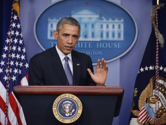 President Obama Holds End-Of-Year News Conference At The White House