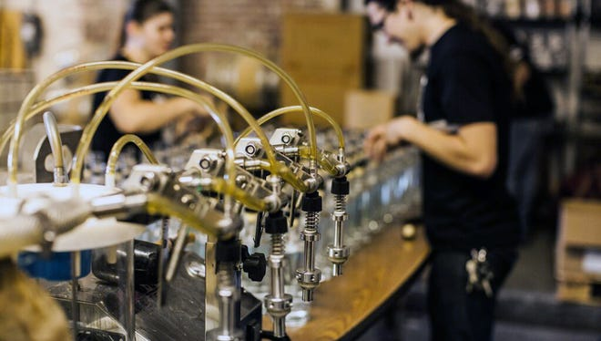 Corsair Distillery is preparing to open a new facility in Nashville to keep up with demand.