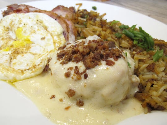Jimmy P's Big Daddy all-day brunch plate features a
