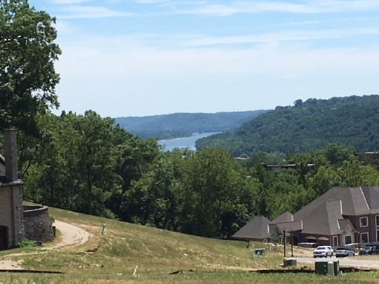 You can see the Ohio River from Grandin View, a new subdivision in Hyde Park, seen here July 19, 2018.