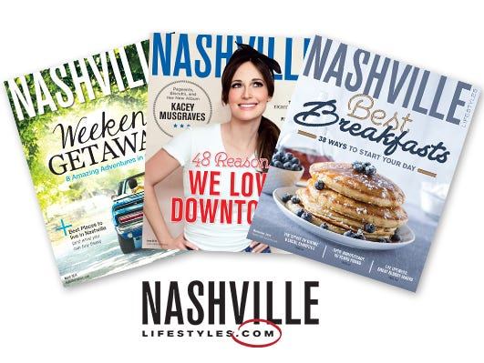 Get 1 year (12 issues) of Nashville Lifestyles magazine for only $12.