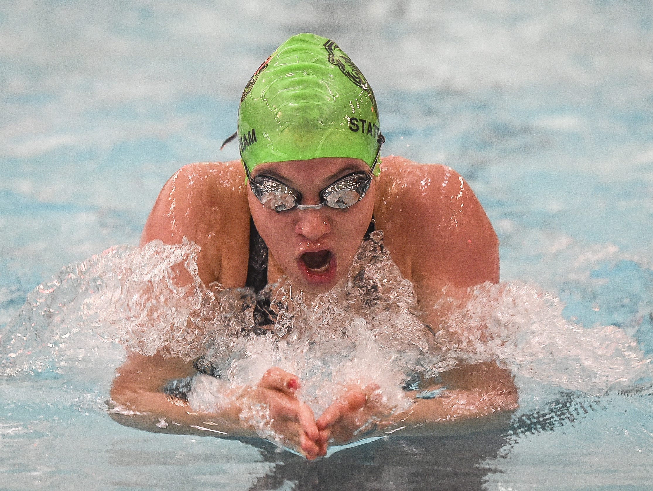 Fossil Ridge graduate and current Auburn swimmer Bailey Nero is one of eight locals who will swim at the U.S. Olympic Swim Trials June 26-July 3.