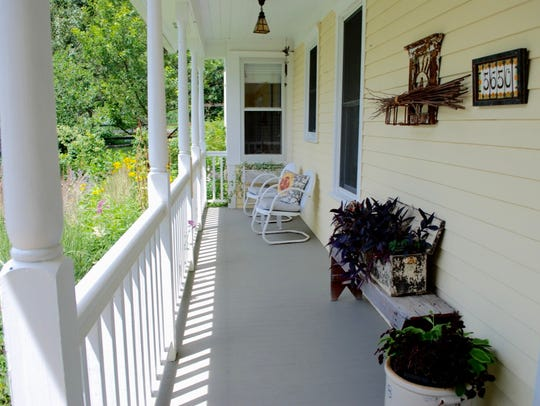 Enjoy a view of the property from the comforts of the