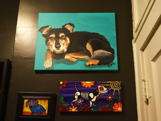 The art collection of Kris and Jason Holland.