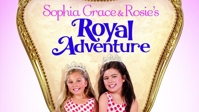 """""""Sophia Grace & Rosie's Royal Adventure"""" is now on DVD and Blu-ray."""