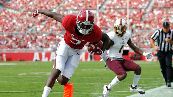 Alabama WR Calvin Ridley has become QB Jake Coker's favorite target.