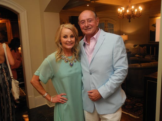 Janet and Bill Schock hosted the TPAC Gala Jimmy Choo Shoe Party, a fundraising kickoff for the 2014 TPAC Gala, held at their home.