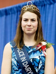 2016 Alice in Dairyland Ann O'Leary is seen during