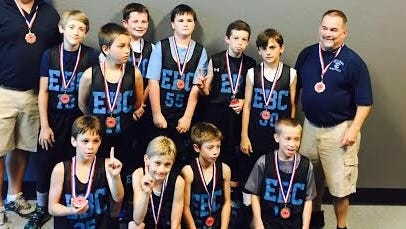 The Enka Basketball Club 5th grade team.