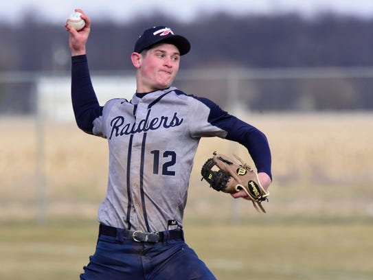 Lakota's Tyler Wehrle was first-team all-SBC River Division.