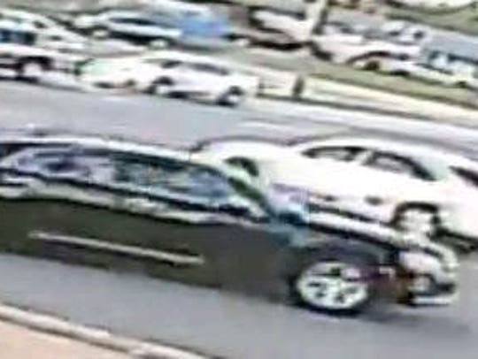 Police released this image of one of three vehicles
