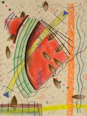 "Marlboro High School student Skyla Morano's ""Watermelon"" won a Silver  Scholastic Art Award."