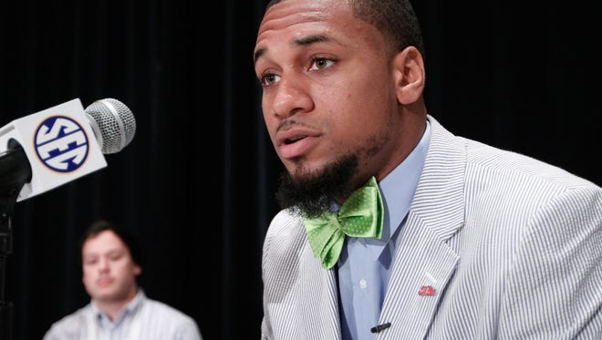 Donte Moncrief was selected by the Colts on Friday.
