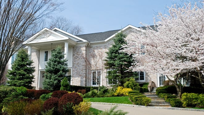 The 11,000 square-foot home at 2 Coventry Court, Larchmont, will be auctioned June 3.