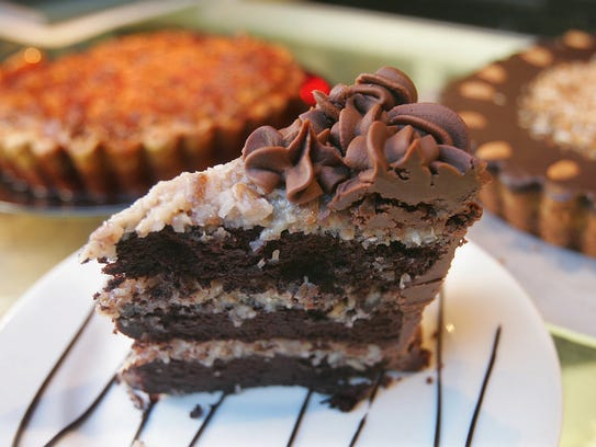 Decadent dessert. Food Glorious Food is famous for