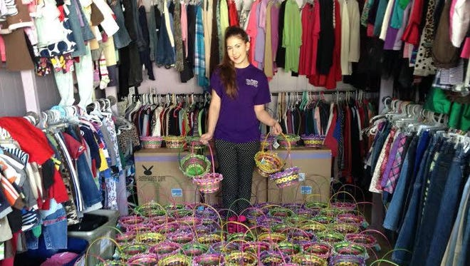 Pitman teen Katelyn Darrow has a goal to provide over 1,000 Easter baskets to children in need