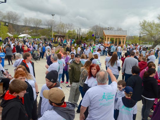 More than 2,000 people gathered at the 11th annual